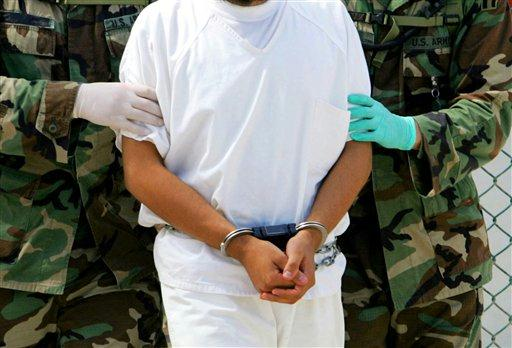 Заключенный Гуантаномо.