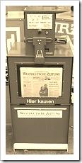 Этот газетный торговый автомат в Дюссельдорфе вошел в историю