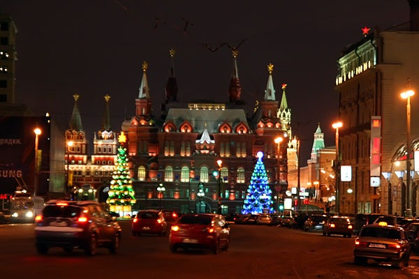 Новогодняя Москва 2008.
