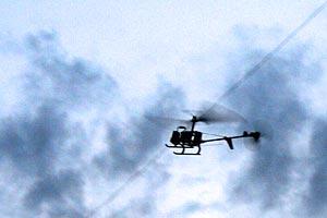 Модель вертолета.