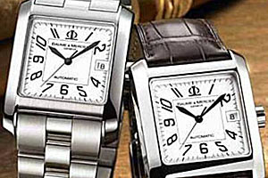 Хронометр в винтажной оправе Baume & Mercier