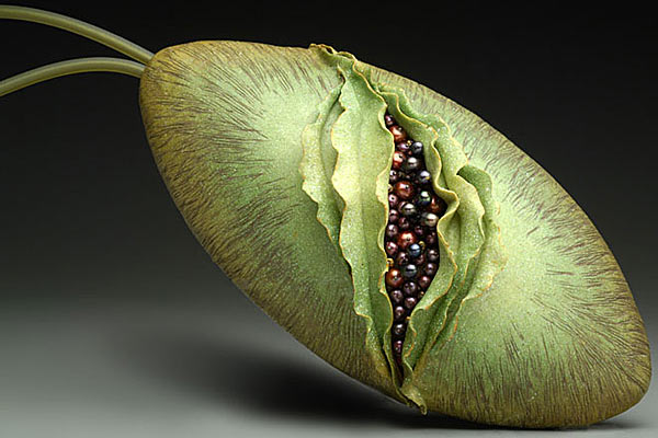 Глиняные сумочки от Kathleen Dustin