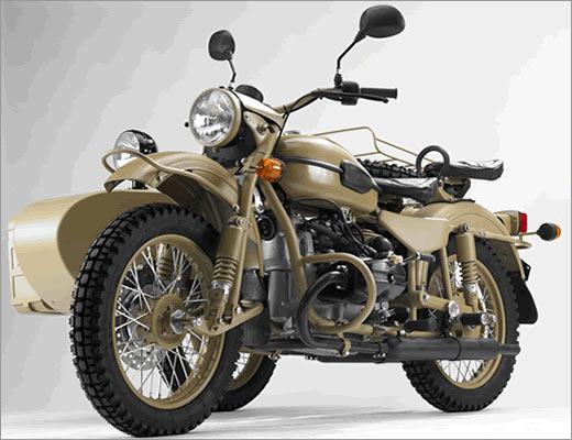 Мотоцикл Sahara