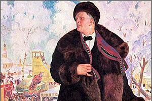 Портрет Федора Шаляпина — Борис Кустодиев, 1920 г.
