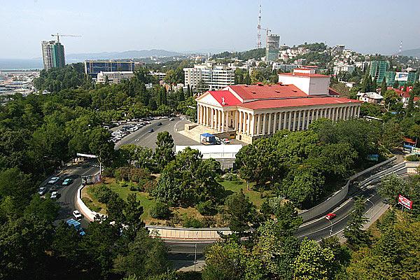Город Сочи готовится к Олимпийским играм 2014