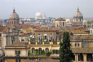 Все дороги ведут в вечный город Рим.