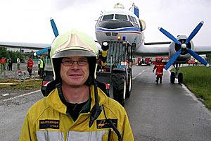 Бывший пилот SwissAir Reto Seipel купил самолет для своего ресторана