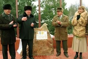 Егор Семенович Строев на открытии