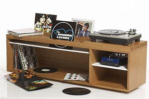 Стол для коллекционера виниловых пластинок