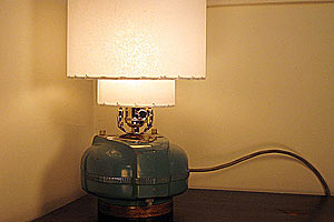 Светильник из старого пылесоса Elektrolux