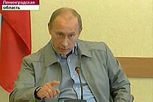 Премьер Путин заступился за голодающих из Пикалево