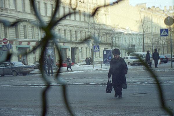 Студеный Санкт-Петербург. Повседневная жизнь горожан. 1997 год.