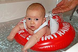 Надувной плавательный круг swim-trainer