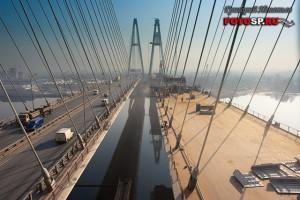 Вантовый мост в Санкт-Петербурге — фотограф Григорий Игнатьев