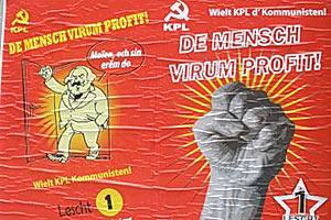Агитационный плакат КПЛ