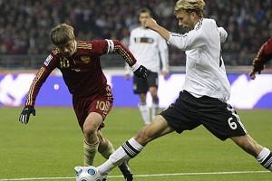 Россия-Германия — 0:1.