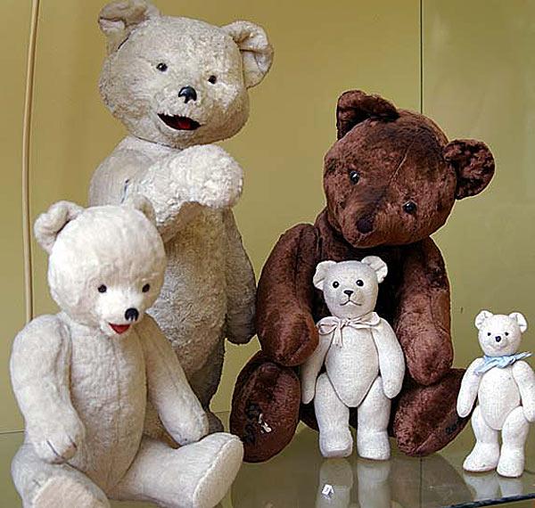 Мишки (почти Тедди) — Советские игрушки