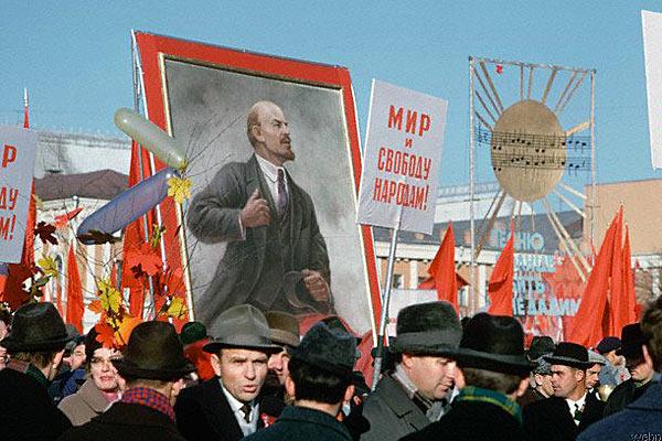 Празднование 50-летия ВОСР. Москва. 1967 год.