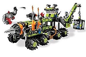 Lego Power Miners Титановая командная установка, Лего Горняки Проходчики 8964