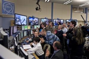 CERN: первые протоны столкнулись