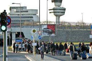 Берлинский аэропорт.