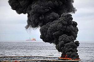 Пожар в Мексиканском заливе