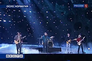 Выступление Петра Налича на конкурсе Евровидение в Осло