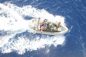 Сомалийские пираты не доплыли до берега