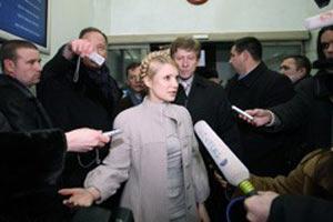 Юлия Тимошенко дает интервью