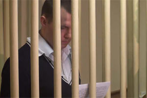 Николай Захаркин в зале суда