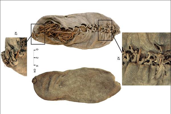 В Армении нашли ботинок жителя средневековья.