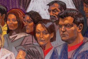 Трансфер шпионов 2010 года в разгаре. На заседании суда. Reuters/Christine Cornell.