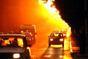 Уфа в условиях аномальной жары