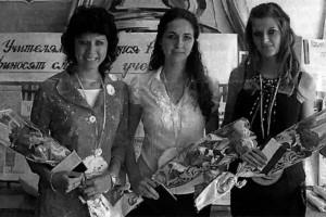 Молодые специалисты: Е.П. Логвинова, И.А. Комарова, И.А. Панюшкина