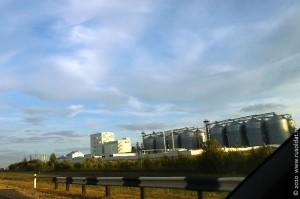 Орловский район из окна автомобиля