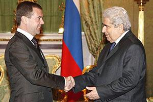 Дмитрий Медведев на Кипре