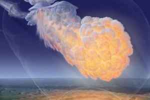 Ученые считают, что взрыв произошел до столкновения тела с поверхностью Земли