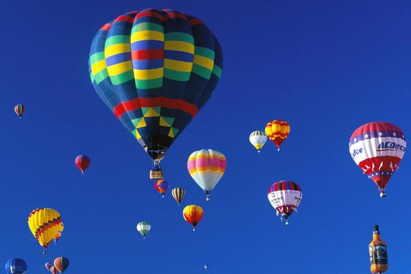 Фиеста воздушных шаров.