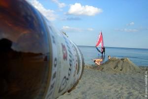 Летом на Чёрном море, в Одессе.