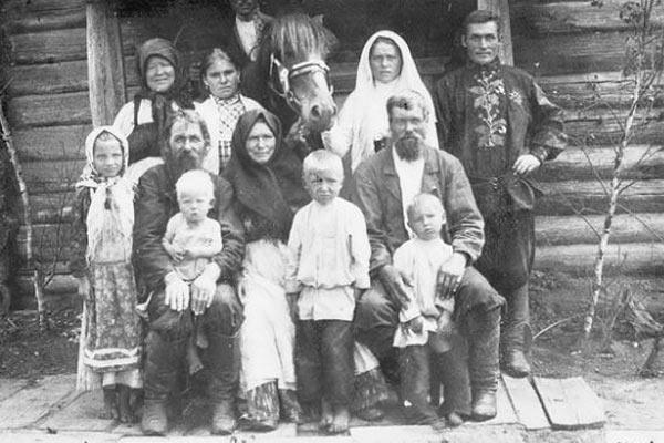 Русские крестьяне, 1915 год