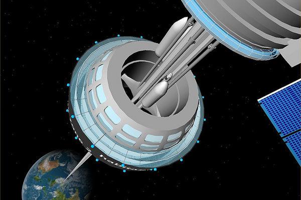 Проект лифта в космос на основе использования углеродных нанотрубок