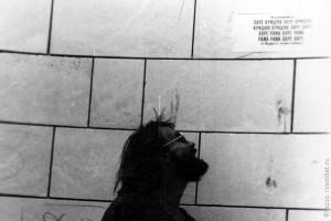 На железнодорожной станции г. Северобайкальска. 1993 год.