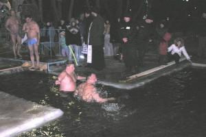 Крещенское купание в Бутово