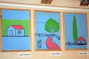 Инсталляция «Открытый урок». «Домики».