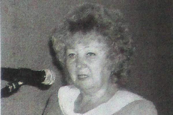 Валентина Александровна Тарасова.