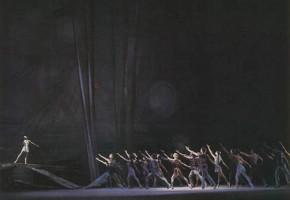 "Сцена из балета ""Ангара"" А. Эшпая."
