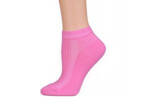 Розовый женский носок. Красивый.