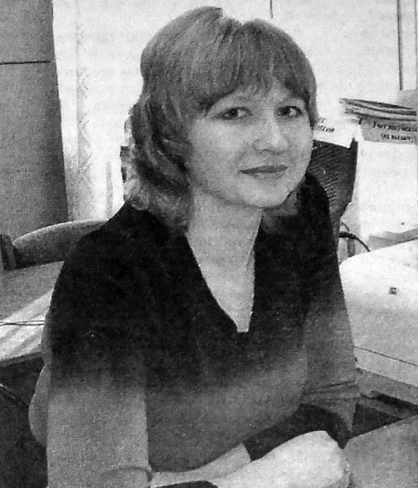 Ирина Леонидовна Агафонова.