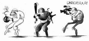 Охота. Сергей Корсун. http://caricatura.ru.
