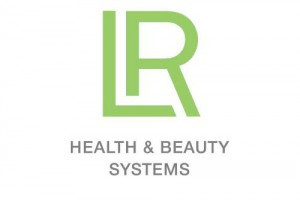 Логотип немецкой косметической компании LR Health & Beauty Systems GmbH.